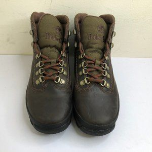 Timberland Women's Euro Hiker Brown Leather Boot